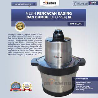 Jual Mesin Pencacah Daging dan BumbuMKS-BLD6L di Makassar