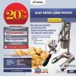 Jual Alat Cetak Long Potato MKS-LPCT50 di Makassar