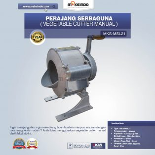 Jual Vegetable Cutter Manual MKS-MSL21 Di Makassar