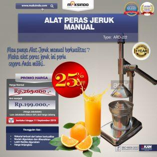 Jual Alat Pemeras Jeruk Manual ARD-J22 Di Makassar