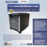 Jual Mesin Food Dehydrator 10 Rak (MKS-DR10) di Makassar