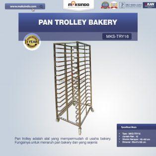 Jual Pan Trolley Bakery (MKS-TRY16) di Makassar
