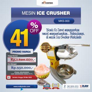 Jual Mesin Es Serut (Ice Crusher MKS-003) di Makassar