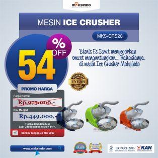 Jual Mesin Ice Crusher MKS-CRS20 di Makassar