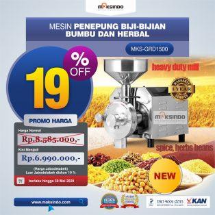 Jual Mesin Penepung Biji-Bijian, Bumbu dan Herbal (GRAIN GRINDER) di Makassar