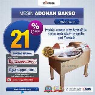Jual Mesin Adonan Bakso (Fine Cutter) MKS-QW724 di Makassar