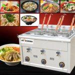 Jual Mesin Pemasak Mie 6 Lubang (Gas, MKS-PC6) di Makassar