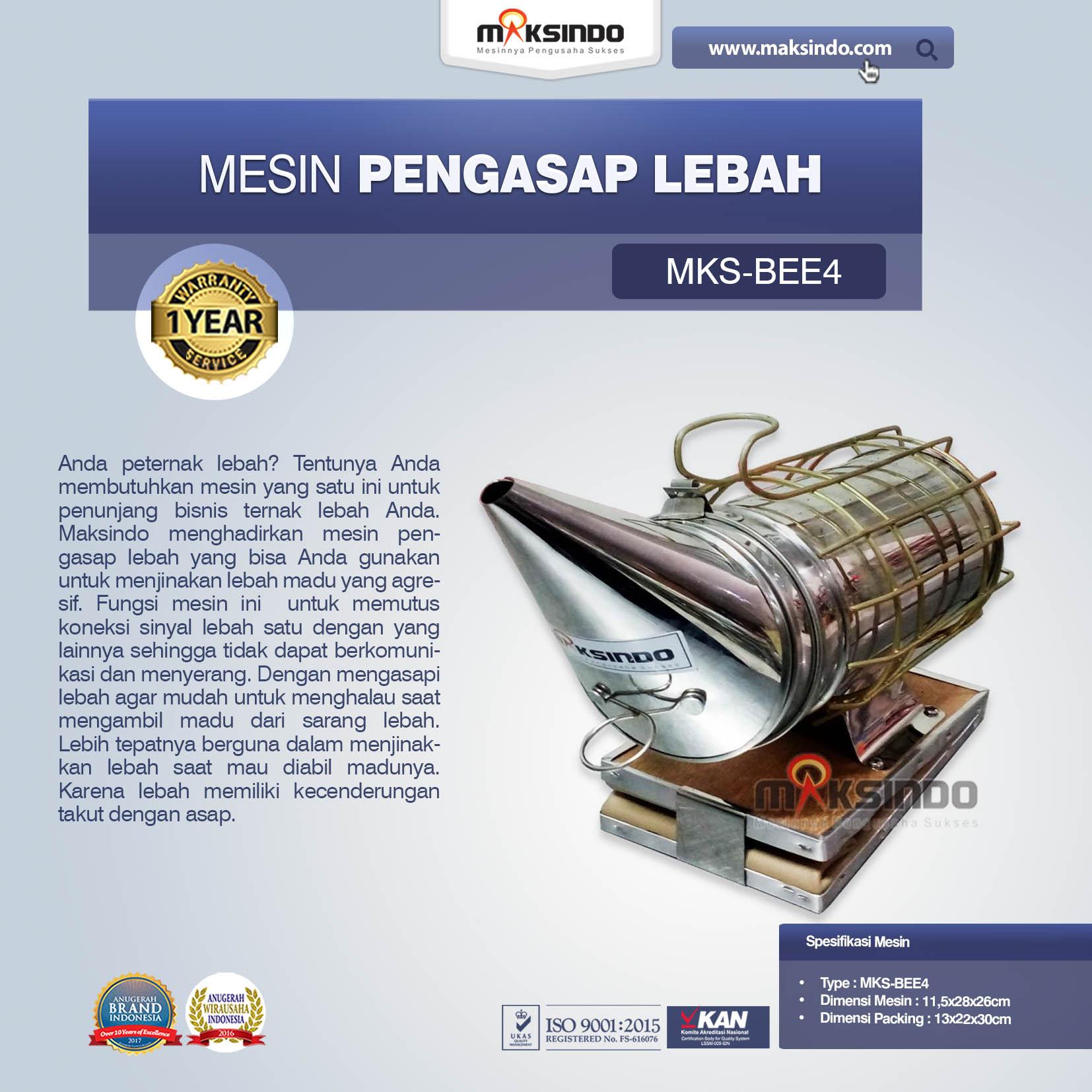 Jual Mesin Pengasap Lebah (MKS-BEE4) di Makassar