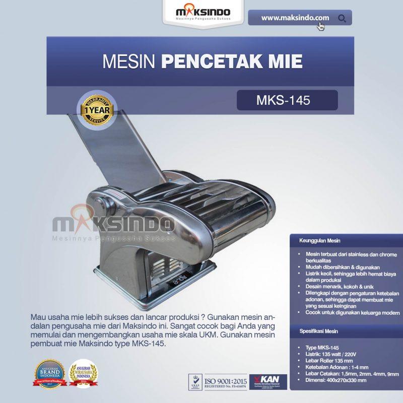 Jual Mesin Cetak Mie (MKS-145) di Makassar