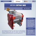 Jual Mesin Cetak Mie MKS-RED2000 di Makassar