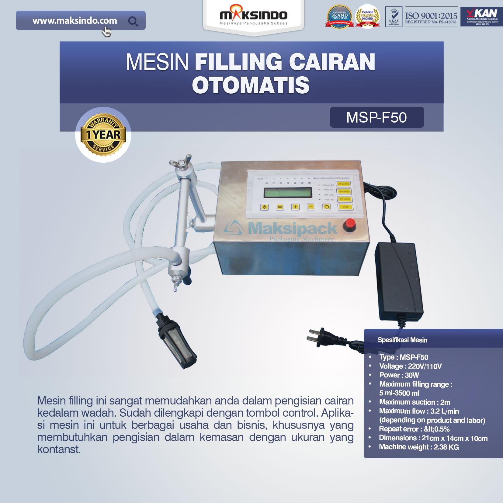 Jual Mesin Filling Cairan Otomatis Di Makassar