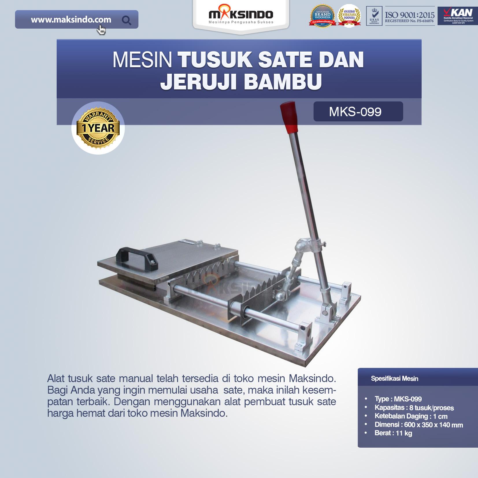Jual Alat Tusuk Sate ManualMKS-099 di Makassar