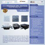 Jual Mesin Pemanggang Grill Multiguna (Electric Grill 4in1) ARD-GRL88 Di Makassar