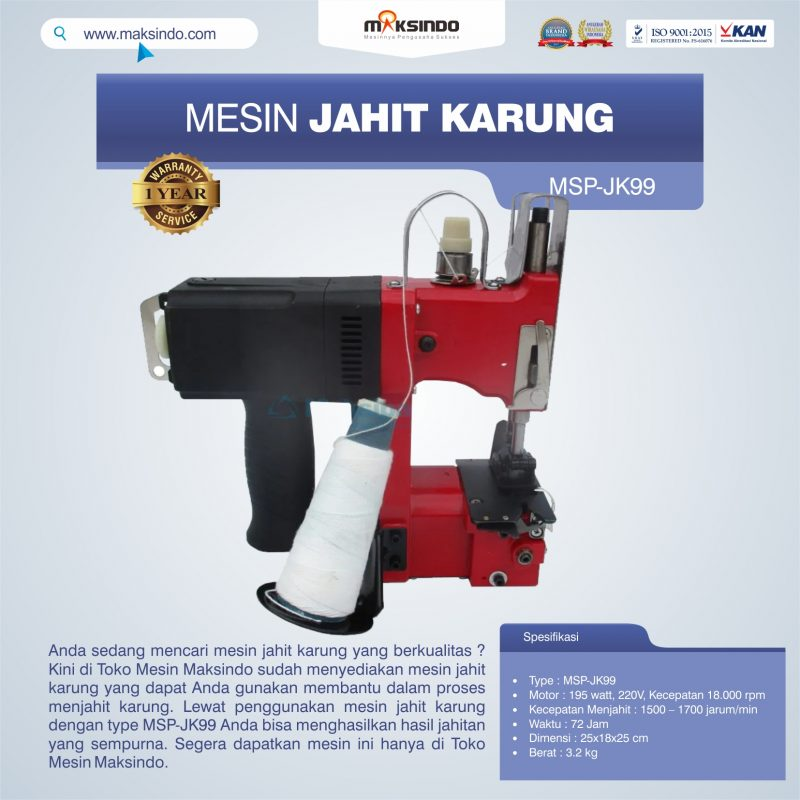 Jual Mesin Jahit Karung MSP-JK99 di Makassar